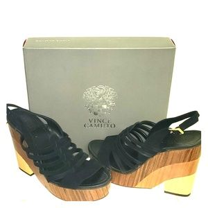 Vince Camuto Onia Platform Wedge Sandals size 10
